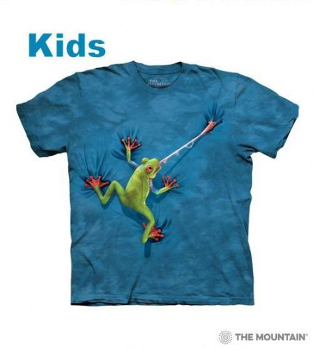 Frog Tongue - Kids Frog T-shirt -The Mountain®